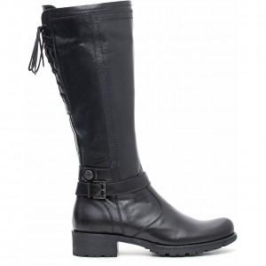 Stivali cowboy nero giardini autunno inverno moda donna - Stivali nero giardini autunno inverno 2015 ...
