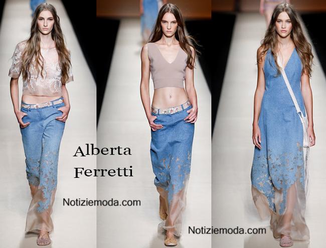 Abbigliamento Alberta Ferretti primavera estate 2015