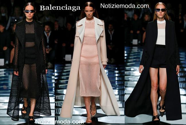 Abbigliamento Balenciaga primavera estate 2015