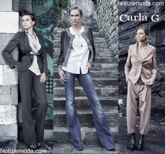Abbigliamento Carla G autunno inverno 2014 2015