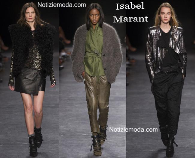 Abbigliamento Isabel Marant autunno inverno 2014 2015
