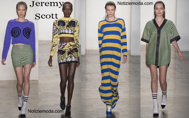 Abbigliamento Jeremy Scott autunno inverno 2014 2015
