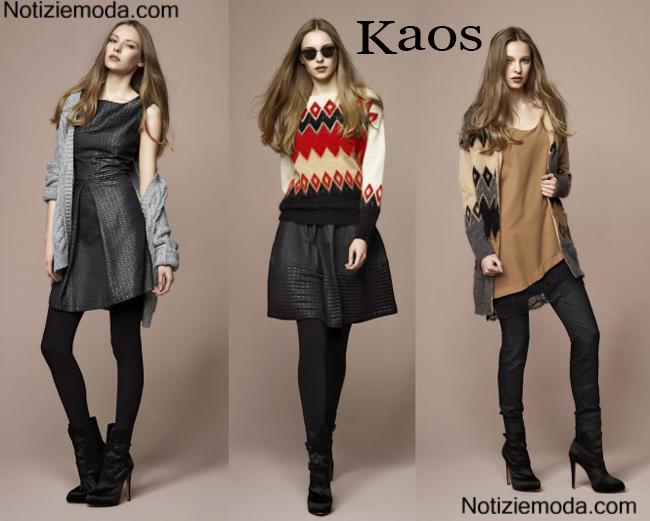 120cd2322307 Collezione Kaos autunno inverno 2014 2015 moda donna