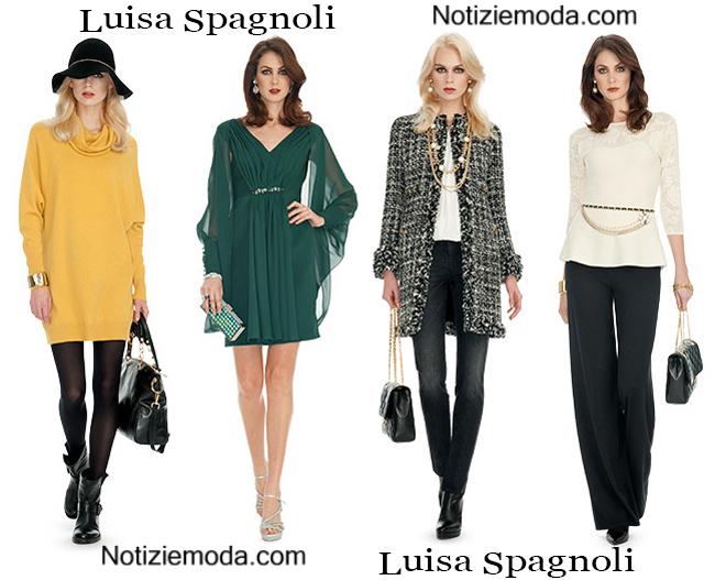 Abbigliamento Luisa Spagnoli Autunno Inverno 2014 2015