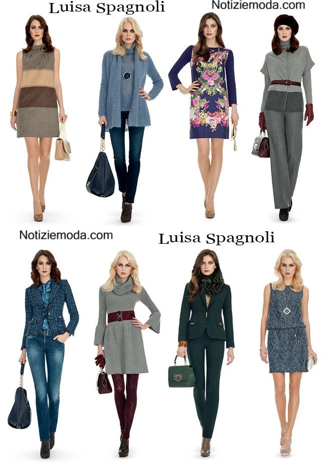 Abbigliamento Luisa Spagnoli Autunno Inverno Donna