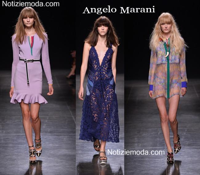 Abiti Angelo Marani primavera estate 2015 moda donna