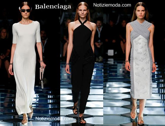 Abiti Balenciaga primavera estate 2015 moda donna