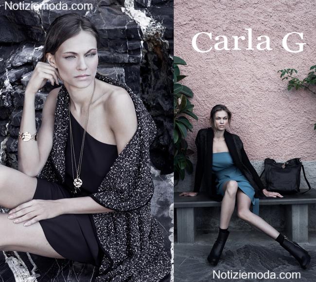 Abiti Carla G autunno inverno 2014 2015 moda donna