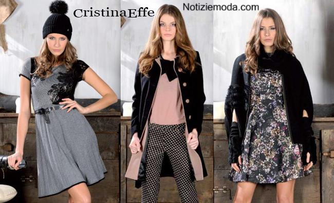 Abiti CristinaEffe autunno inverno 2014 2015 moda donna
