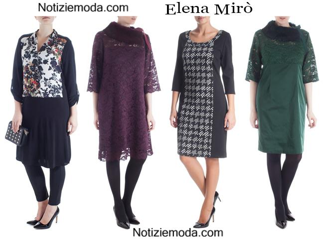 Abiti Elena Mirò autunno inverno 2014 2015 donna