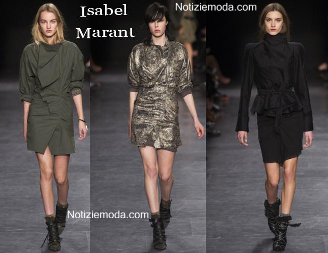 Abiti Isabel Marant autunno inverno 2014 2015 moda donna