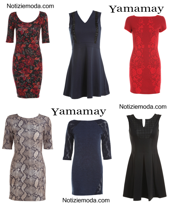 Abiti Yamamay autunno inverno 2014 2015 donna