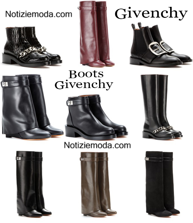 Boots Givenchy calzature autunno inverno donna