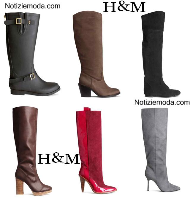 Boots  HM calzature autunno inverno donna