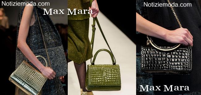 Borse Max Mara autunno inverno 2014 2015 moda donna