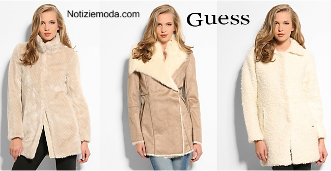 Giacconi Guess autunno inverno 2014 2015 donna 7279c4598bb