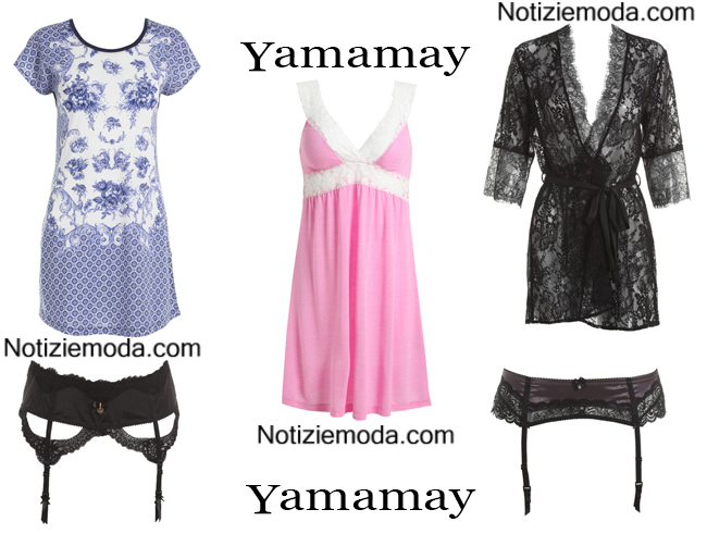 Intimo Yamamay autunno inverno 2014 2015 donna