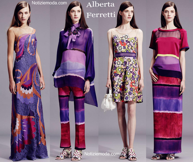 Lookbook Alberta Ferretti primavera estate 2015