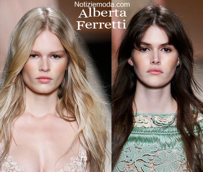 Makeup Alberta Ferretti primavera estate moda donna