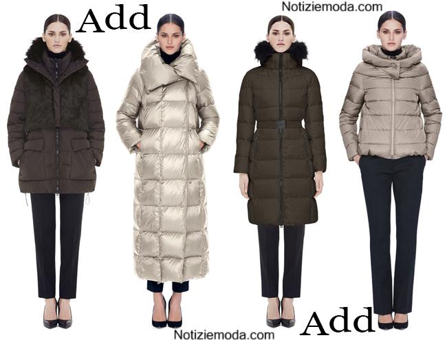 huge selection of 301a8 7488e Piumini Add autunno inverno 2014 2015 moda donna