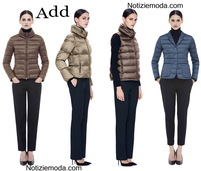 huge selection of 12ab8 35f49 Piumini Add autunno inverno 2014 2015 moda donna