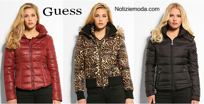 Piumini Guess autunno inverno moda donna
