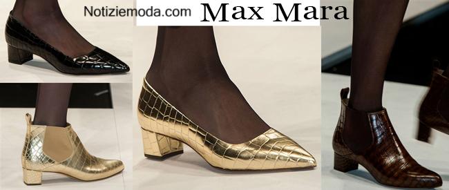 Scarpe Max Mara autunno inverno 2014 2015