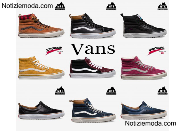 scarpe donna vans invernali