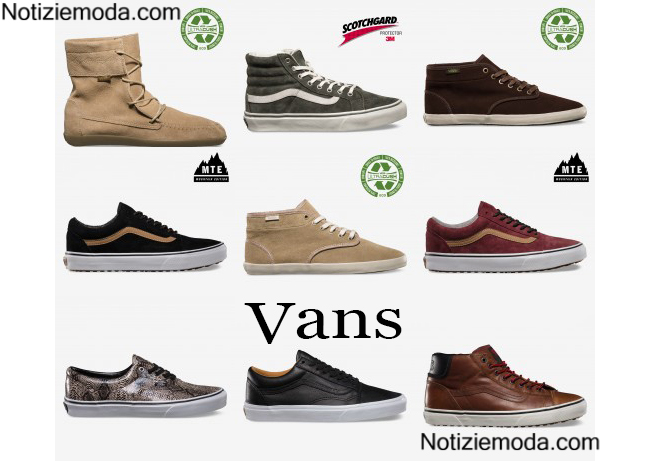 Shoes Vans autunno inverno 2014 2015
