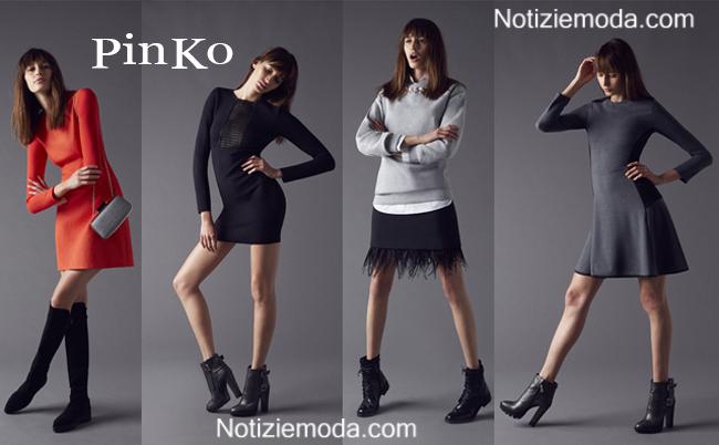 Vestiti PinKo autunno inverno 2014 2015 moda donna