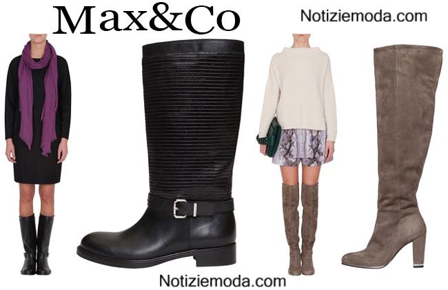 Boots  Max&Co calzature autunno inverno donna