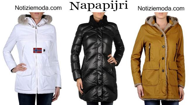 Giacconi Napapijri autunno inverno donna