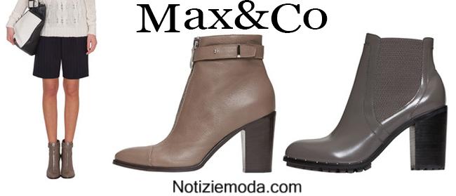 Stivaletti Max&Co calzature autunno inverno