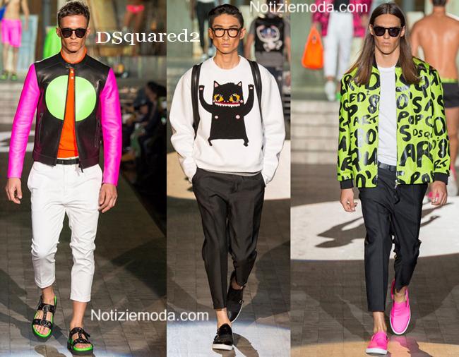 Abbigliamento DSquared2 primavera estate 2015