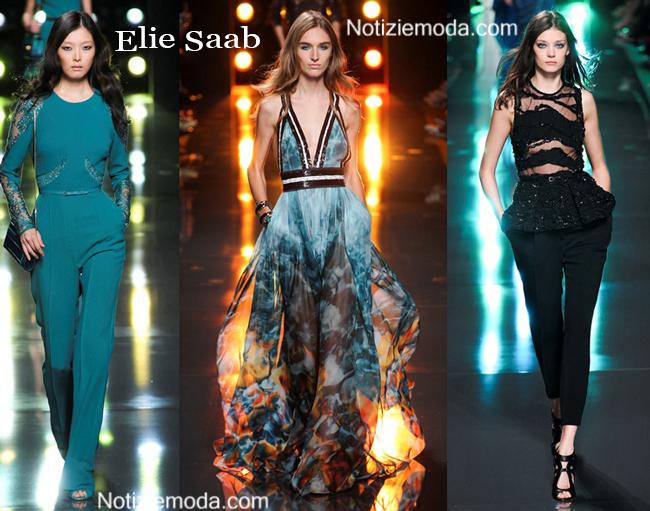 Abbigliamento Elie Saab primavera estate 2015