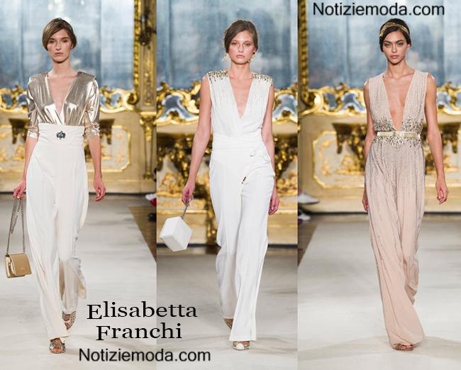 Abbigliamento Elisabetta Franchi primavera estate 2015
