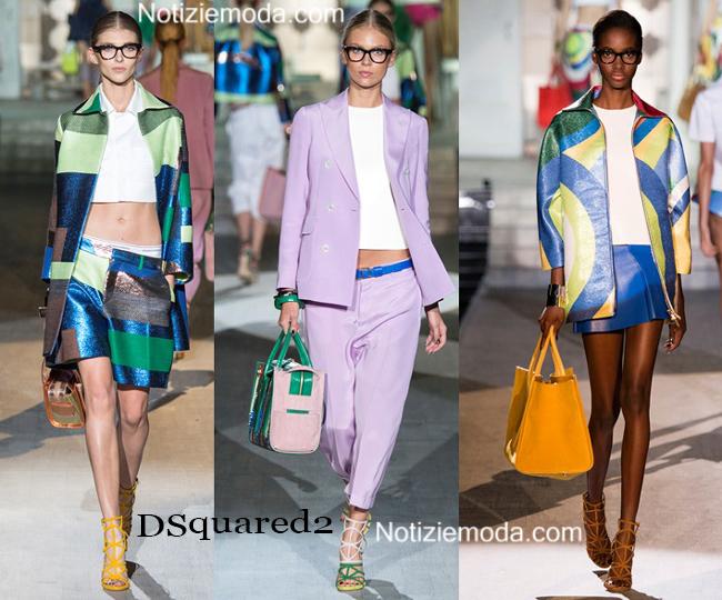 Abiti DSquared2 primavera estate 2015 moda donna