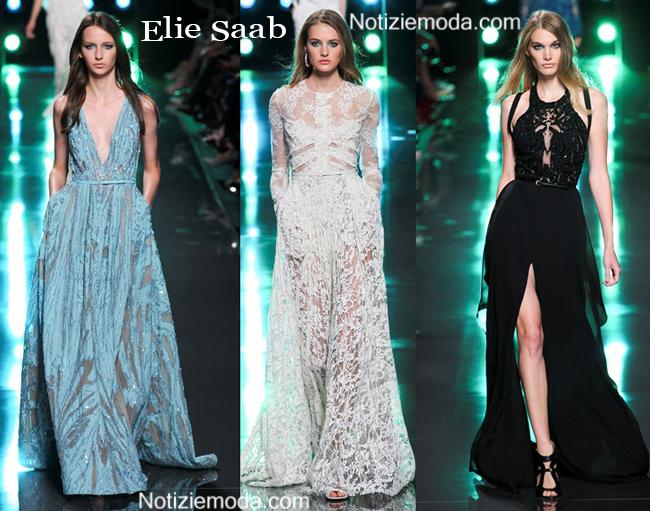 Abiti Elie Saab primavera estate 2015 moda donna