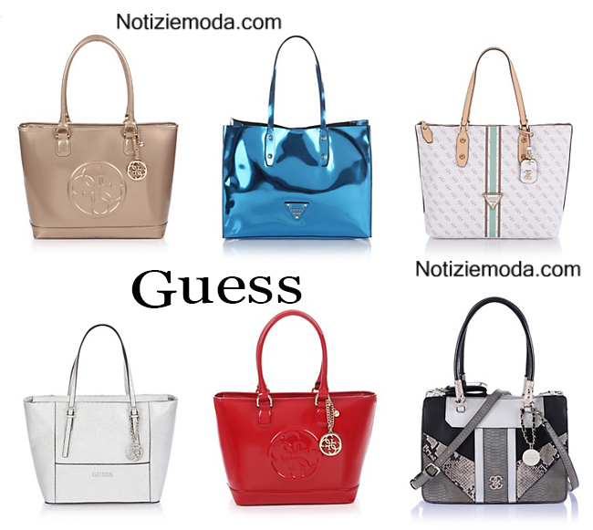 huge discount fbb4c 279cb Borse Guess primavera estate 2015 moda donna