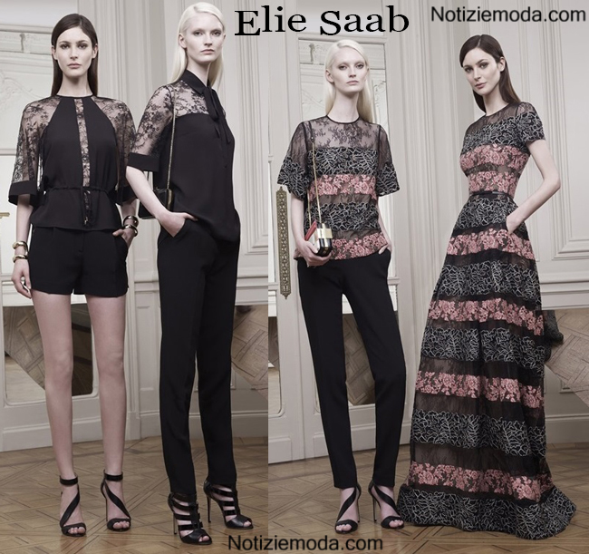 Lookbook Elie Saab primavera estate 2015