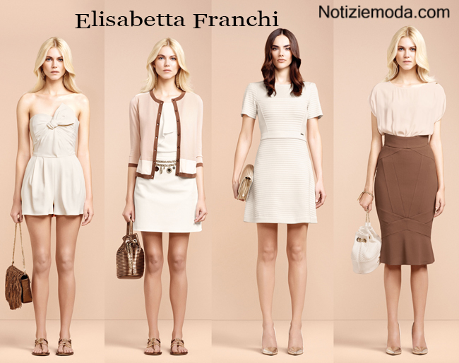 Lookbook Elisabetta Franchi primavera estate 2015