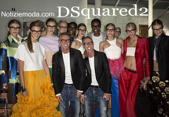 Stile DSquared2 primavera estate 2015 donna