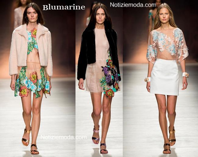 Abbigliamento Blumarine primavera estate 2015