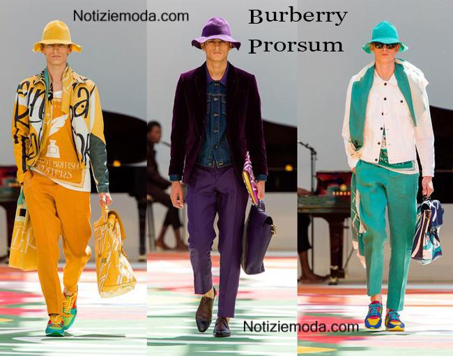 Abbigliamento Burberry Prorsum primavera estate 2015