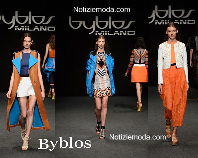 Abbigliamento Byblos primavera estate 2015