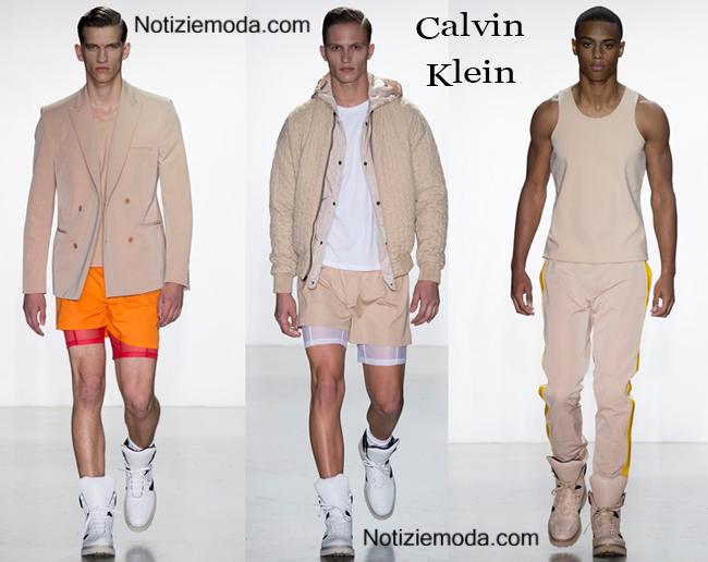 Abbigliamento Calvin Klein primavera estate 2015