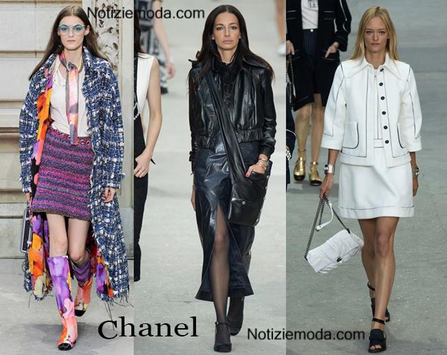 Abbigliamento Chanel primavera estate 2015