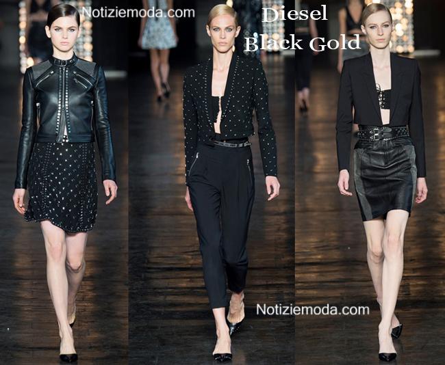 Abbigliamento Diesel Black Gold primavera estate 2015