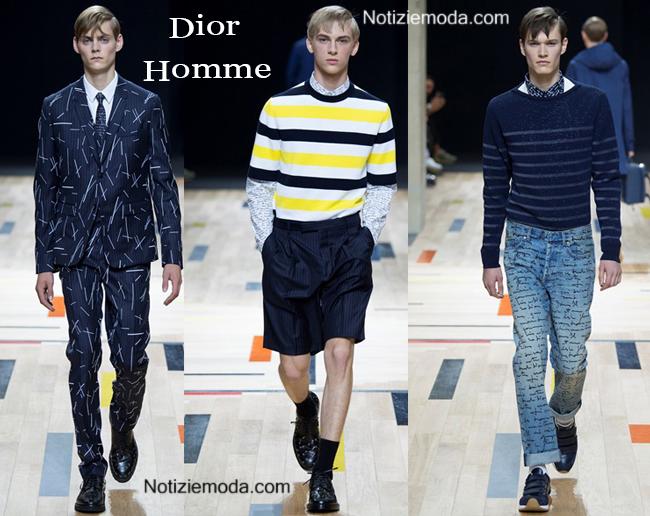 Abbigliamento Dior Homme primavera estate 2015