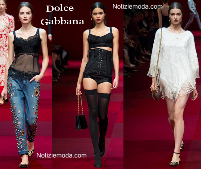 Abbigliamento Dolce Gabbana primavera estate 2015